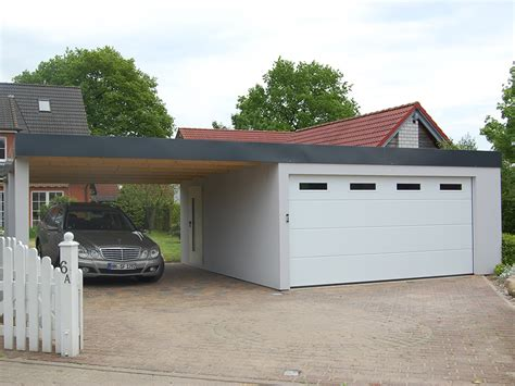 Garage Mit Carport by Bilder Garagen Und Carport Kombinationen