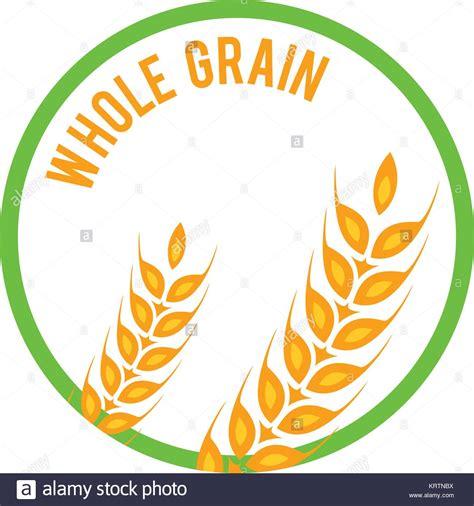 whole grains logo whole wheat vector vectors stock photos whole wheat