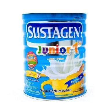 Sustagen Junior 1 Vanila 1200 Gr jual sustagen junior formula vanila 1200 g box