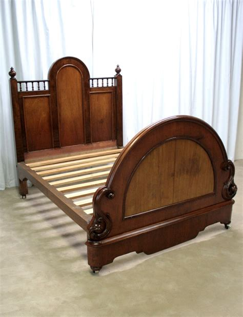 victorian bed frame victorian mahogany double bed frame 233744 sellingantiques co uk