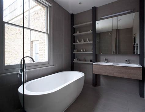 Modern Ensuite Bathrooms Modern Glass Extension On A 5 Story Townhouse Studio Przedmiotu