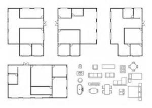 Home Design Templates Free by House Design Plans Vector Free Download