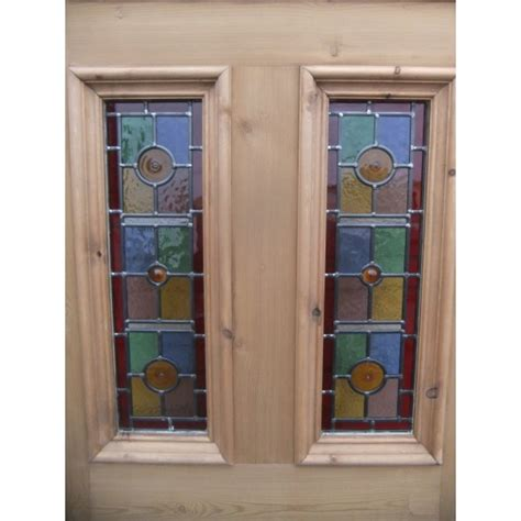 glass panel exterior door sd071 exterior 5 panel door with vibrant stained glass panels