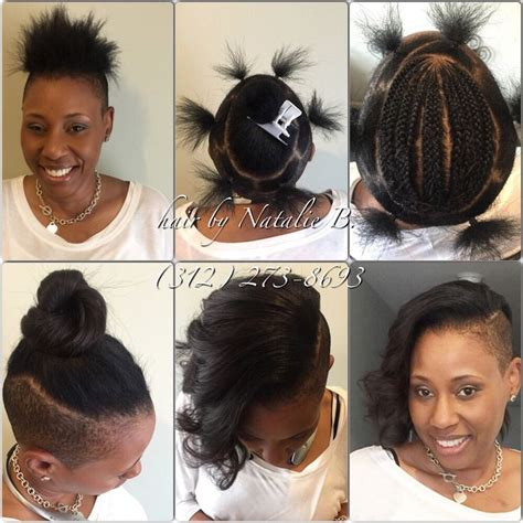how to do a sew in with shaved sides 918 best good hair images on pinterest braids colors