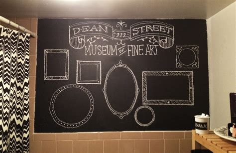 Bathroom Designs 2012 by Bexcetera A Chalkboard Wall Or Two