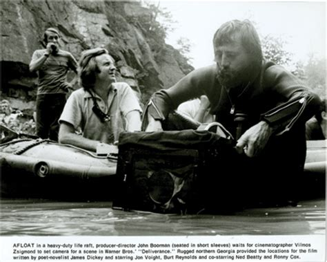 themes in deliverance by james dickey john boorman vilmos zsigmond and jon voight on the set