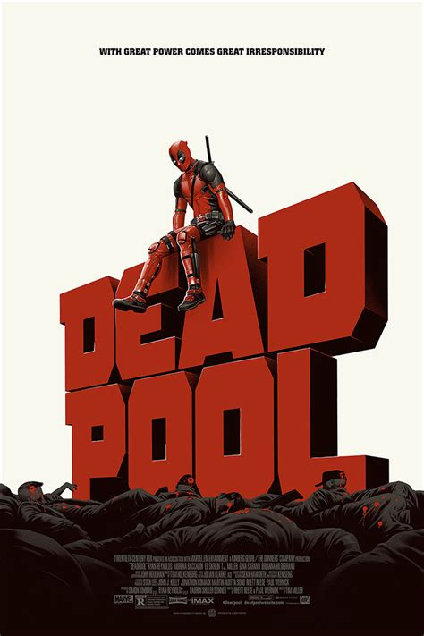 deadpool poster deadpool archives home of the alternative poster
