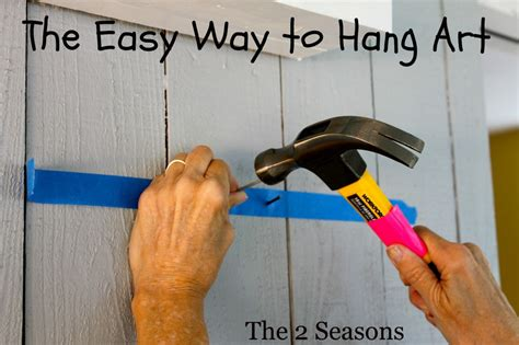 how to hang artwork the 2 seasons the mother daughter lifestyle blog