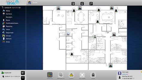 virtual floor plan next level security systems integrated ip video and ip