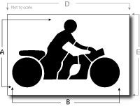motorcycle templates graphics pictures to pin on pinterest