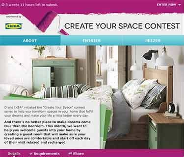 Ikea Sweepstakes - www oprah com ikea oprah create your space contest