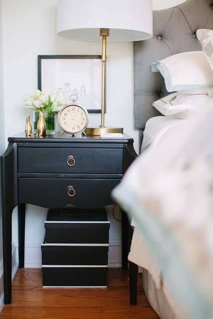 black bedroom side table 55 cool non conventional bedside tables digsdigs
