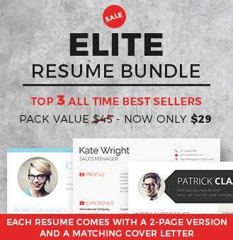 Elite Resume Writing Cover Letter by Spick And Span A Clean Resume Template Freebie Freesumes