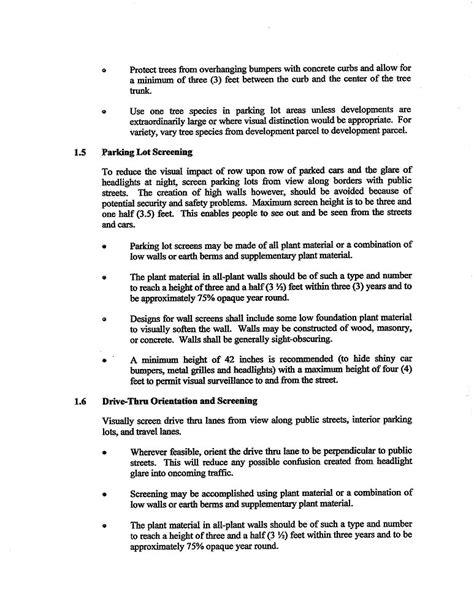 design criteria points crossroads point landscape design architectural guidelines