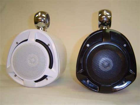 boat speaker box bassforms marine wake tower fiberglass enclosure lightav