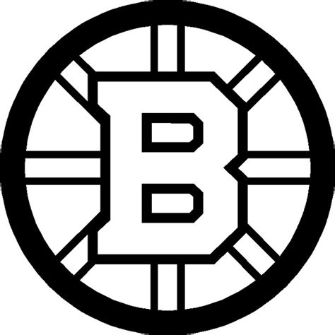 boston bruins free colouring pages