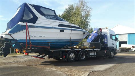 boat transport uk prices bayliner 28ft also boat transport boats for sale uk