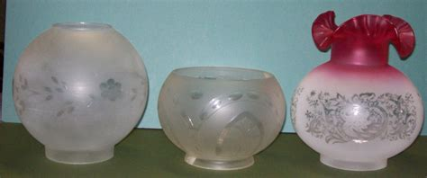 Vintage Glass L Globes by Antique Chandelier Glass Globes Light Fixtures Design Ideas