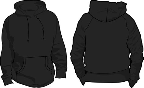 black hoodie template our printing solution simply different