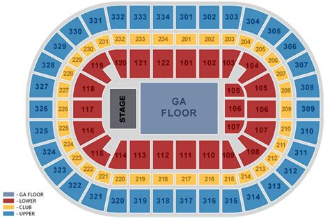 united seating chart united center maplets