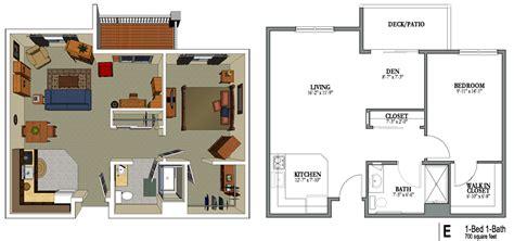 home plan design 700 sq ft 1 bedroom 1 bath 700 sq feet png png bild 1014 215 475