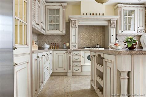 White Kitchen Furniture by Pictures Of Kitchens Traditional Off White Antique