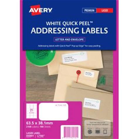 template for avery labels l7160 avery 959001 l7160 100 laser label 63 5x38 1mm 21 sheet