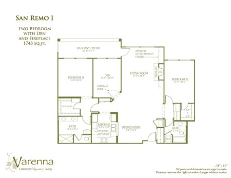 san remo floor plans san remo varenna at fountaingrove