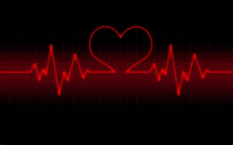 life  heart rate wallpaper valentine day red  black