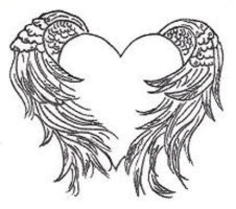 tattoo with angel wings and heart heart with angel wings tattoo heart with wings tattoo
