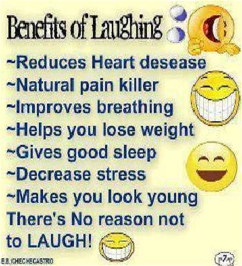 7 Benefits Of Laughter by And Then There Was The The And The