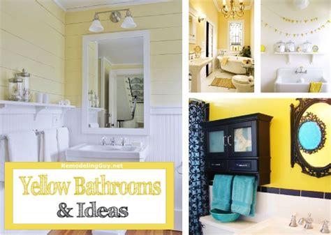 black and yellow bathroom ideas yellow bathrooms ideas inspiration
