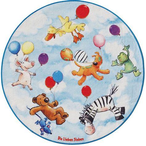 kinderzimmer teppich die lieben sieben kinderteppich die lieben sieben rund die lieben sieben