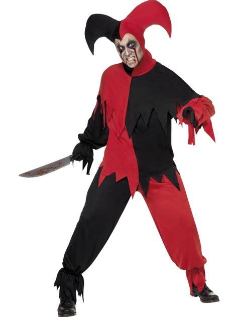 Kaos Bigsize Harley 123 jester duistere harlekijn heren kostuum