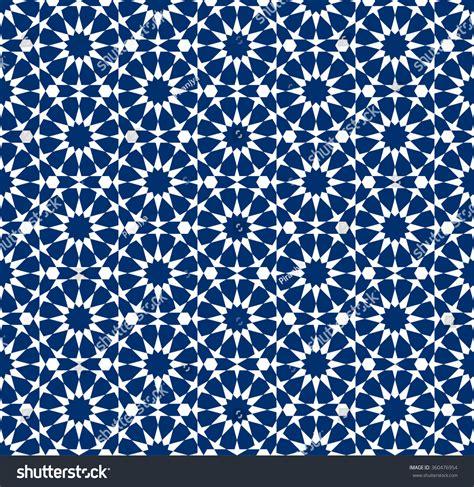 seamless moroccan pattern seamless pattern moroccan style mosaic tile islamic stock