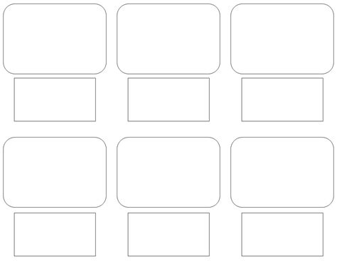 Blank Storyboard Template by Blank Storyboard Template Print Cliparts Co