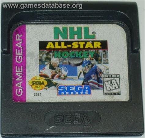 Kaset Cartridge Sega Nhl nhl hockey jeu gear images vid 233 os astuces et avis