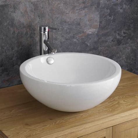 deep bathroom sinks moda trento deep circular ceramic shaped wash basin sink