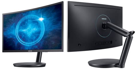 Monitor Samsung Cfg70 the cfg70 curved gaming monitor an experience that s ahead of the samsung global newsroom