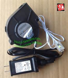 Replacement inflatable fan motor likewise gemmy inflatable fan blower