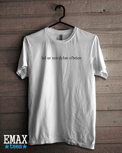 Kaos Tshirt The Maze Runner Hitam lol ur not o brien t shirt stilinski wolf