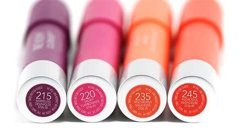 Revlon Colorburst Matte Lip Balm 220 Showy revlon colorburst matte balm review swatches