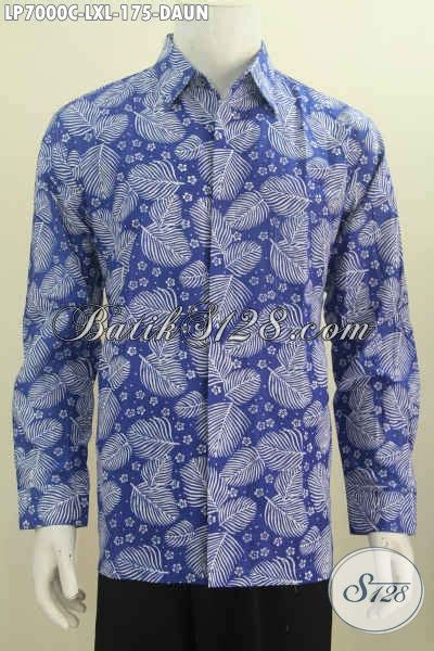 Jaket Motif Daun baju batik santai motif daun kemeja batik modern model