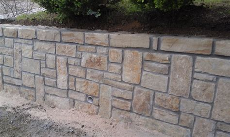 home designer pro retaining wall drainage in stone retaining wall dallas by circle d