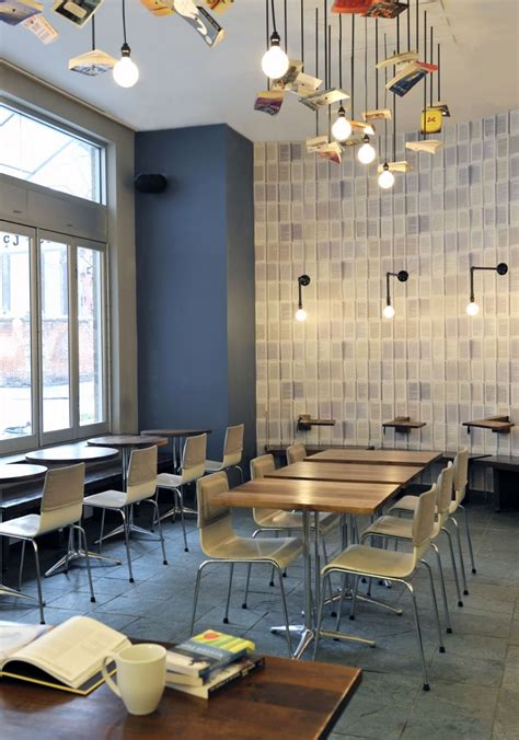 Cool Cafe Interiors by Mcnally Jackson Cafe Design By Front Studio Architecture