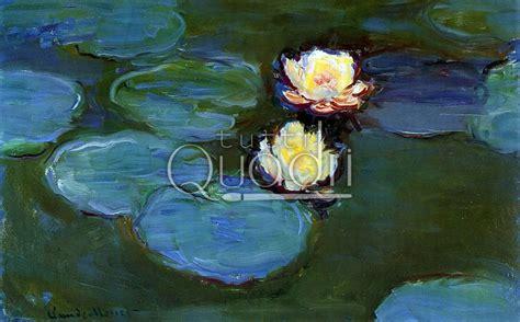 fiori monet quot gigli d acqua quot di monet quadri impressionisti con fiori