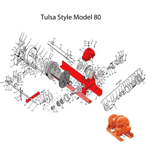 tulsa winch parts diagram tulsa winch parts diagram periodic diagrams science