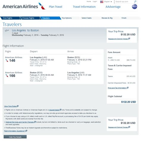 Aa Baggage Fee by 133 157 Last Minute La To Boston Nonstop R T Fly