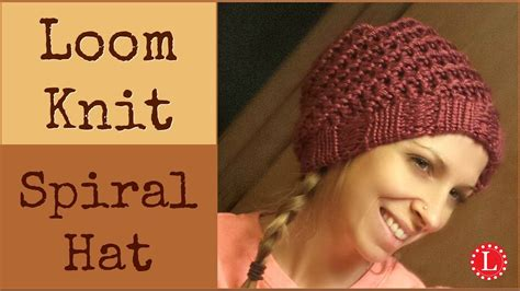 how to knit a hat in the loom knit hat easy spiral hats step by step for