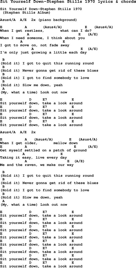 testo still loving you song lyrics for sit yourself stephen stills 1970